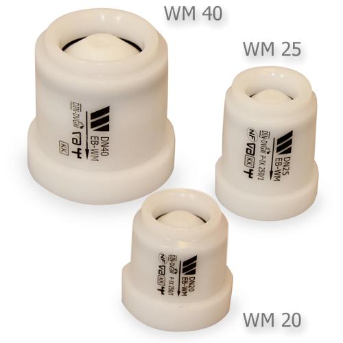 Backventil plast WM