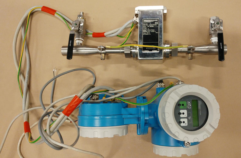 Endress & Hauser induktiv flödesmätare DN2